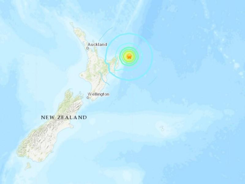 Sismo de 7.2 sacude Nueva Zelanda generando alerta de tsunami