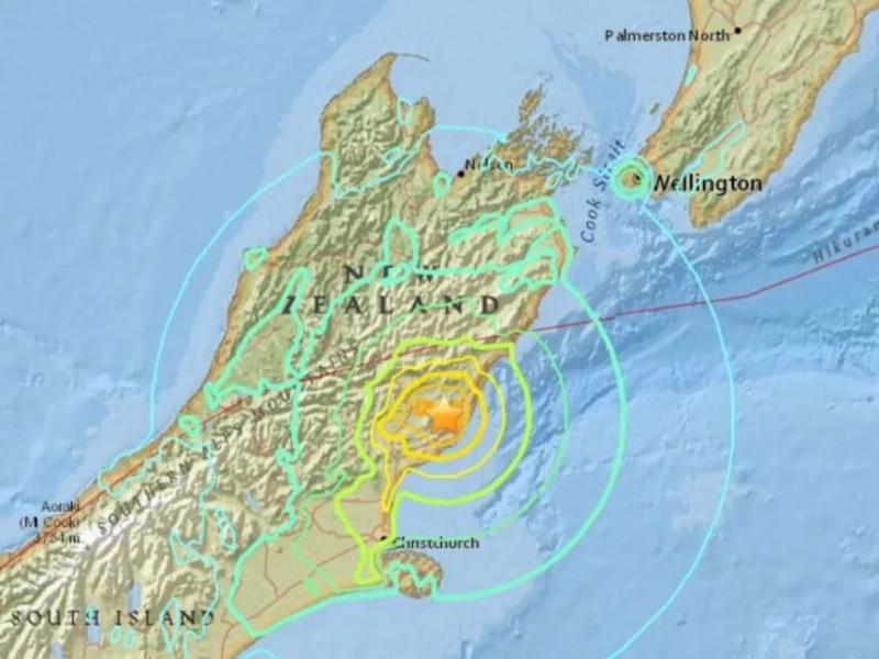 Sismo de 7.3 grados sacude Nueva Zelanda, hay alerta tsunami