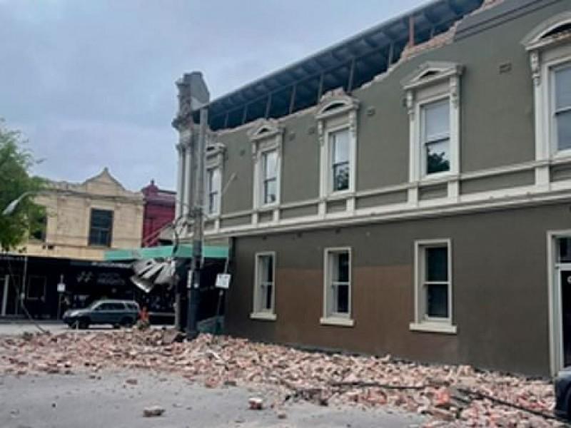 Sismo de magnitud 5.8 sacude Melbourne, Australia