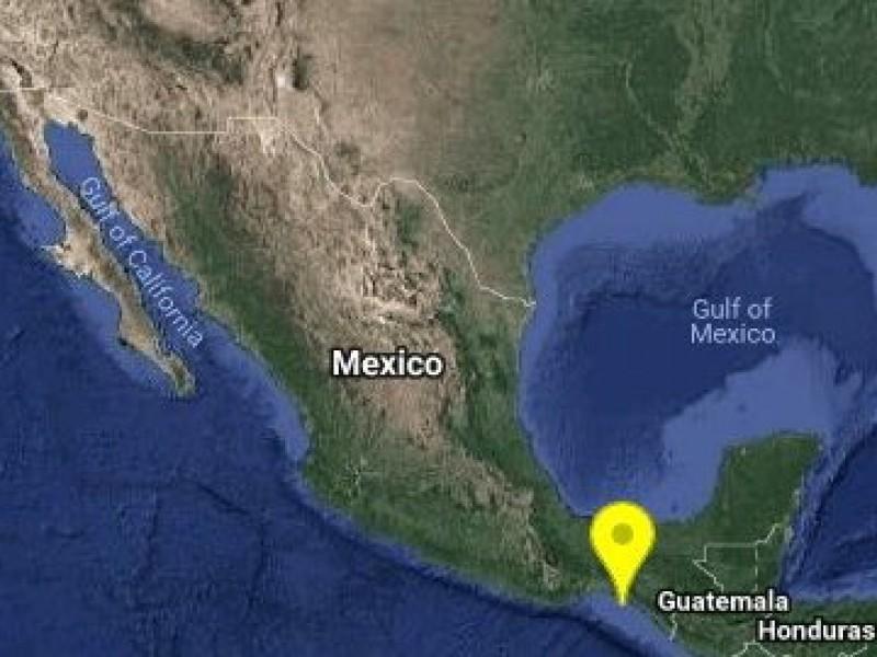 Sismo de magnitud preliminar 5.0 sacude Chiapas