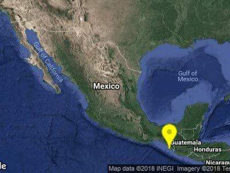 Sismo en Chiapas sin afectaciones