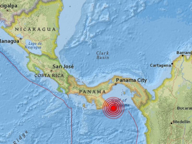 Sismo en Panamá no deja daños ni victimas