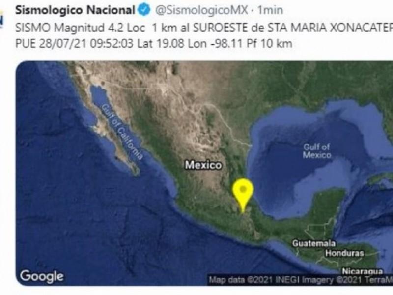 ¡Sismo en Puebla! El epicentro, Santa María Xonacatepec