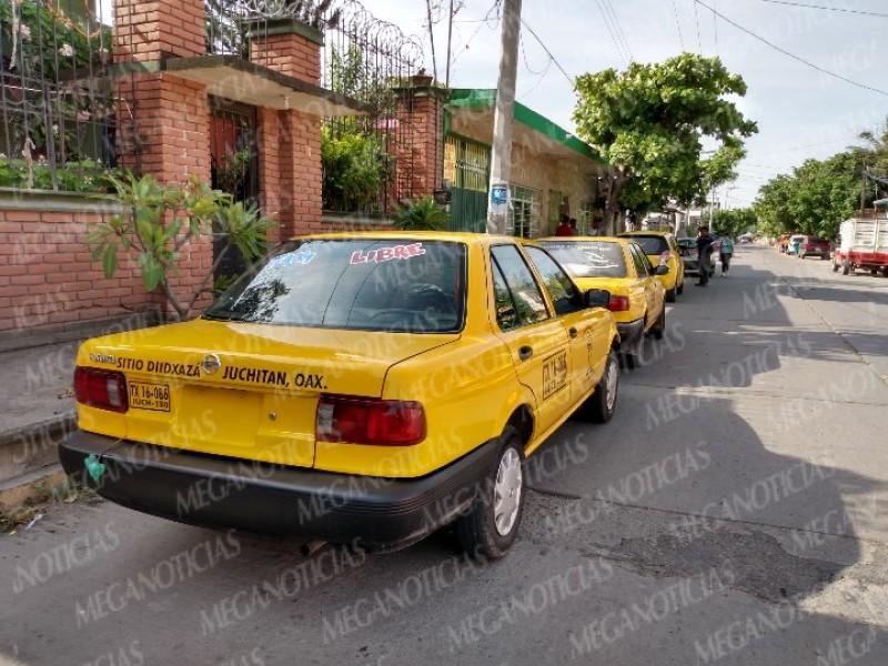 Sitio Diidxaza nueva organización de taxistas
