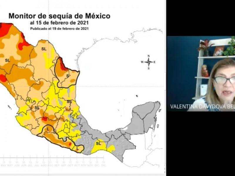 Situación de sequía en Jalisco alcanzó niveles severos, advierte científica
