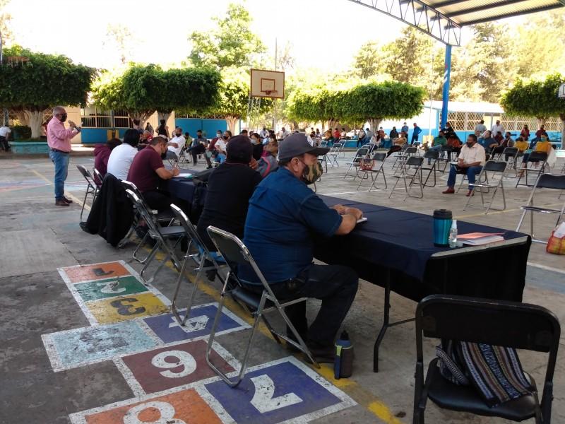 SNTE-CNTE anuncia toma de casetas en Michoacán