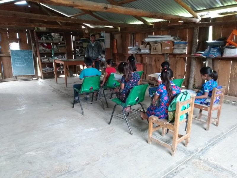 SNTE reporta que  hay clases presenciales en comunidades chiapanecas