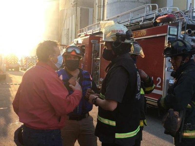 Sobrecalentamiento de hornos provoca incendio en VITRO
