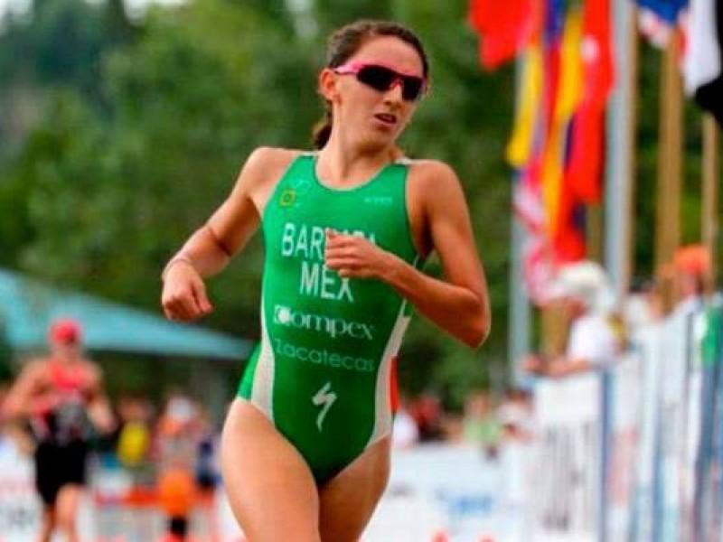 Sobresale Adriana Barraza en Duatlón Olímpico en Kazajistán