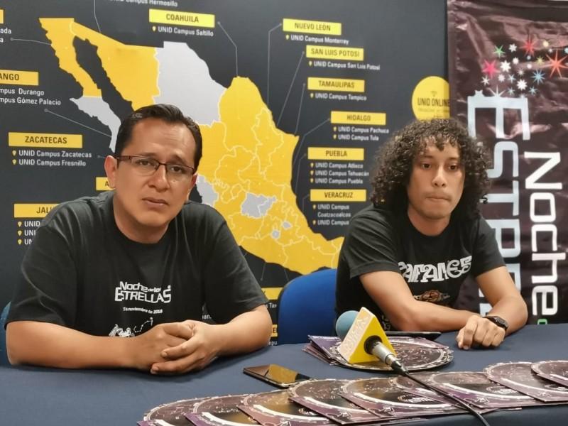 """Sociedad Astronómica,anuncia cuarta edición """"Noche de las Estrellas"""