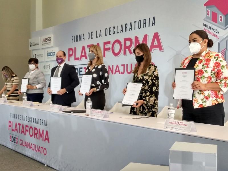 Sociedad Civil Organizada busca que futuros candidatos realicen declaración patrimonial