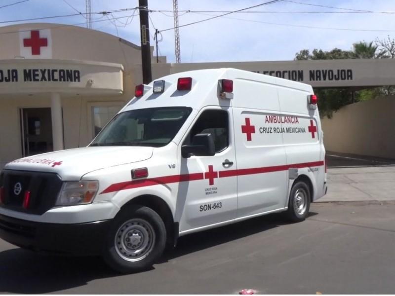 Elementos de Cruz Roja Navojoa resultaron positivos a COVID-19