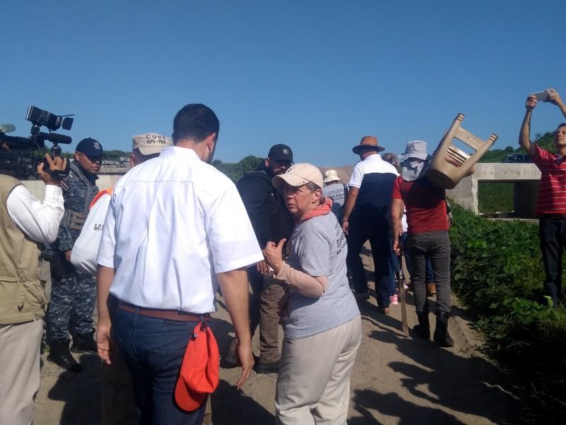 Solecito de Veracruz busca fosas cerca del puerto