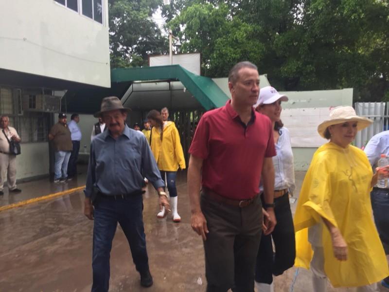 Solicita Gobernador declaratoria de emergencia para zona norte