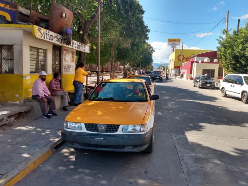 Solicitan ampliación de concesiones de taxis en Ciudad Ixtepec