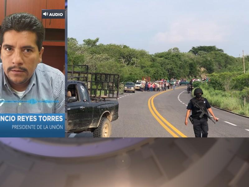 Solicitan módulo permanente de seguridad en Petacalco