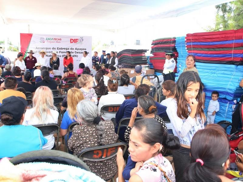 Solicitarán más apoyo alimenticio para afectados por lluvias