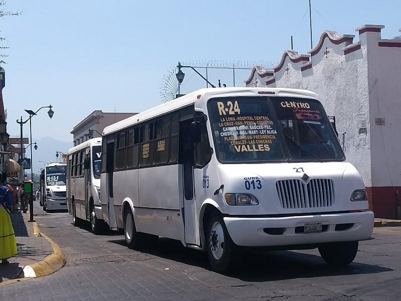 Solicitarán reordenamiento del transporte público