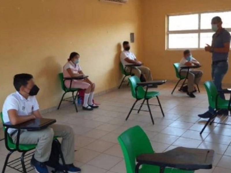 Sólo 70% de escuelas nayaritas en condiciones para retorno presencial