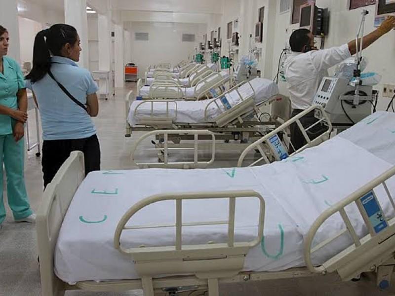 Sólo quedan 77 camas de terapia intensiva para Covid-19