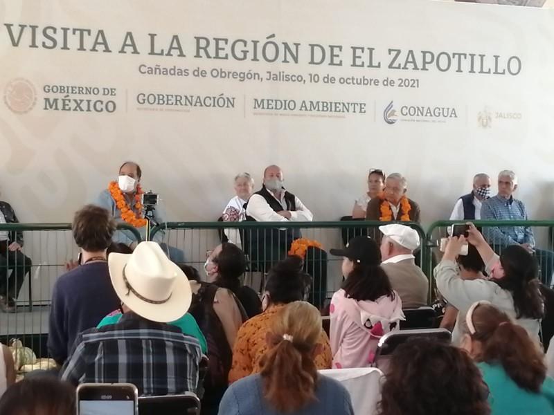 Solución para presa El Zapotillo dentro de un mes: AMLO