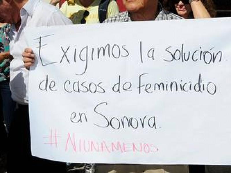 Sonora entre estados con más feminicidios