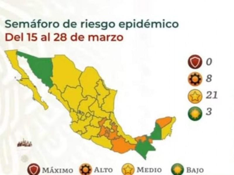 Sonora, pasa a Semáforo Verde