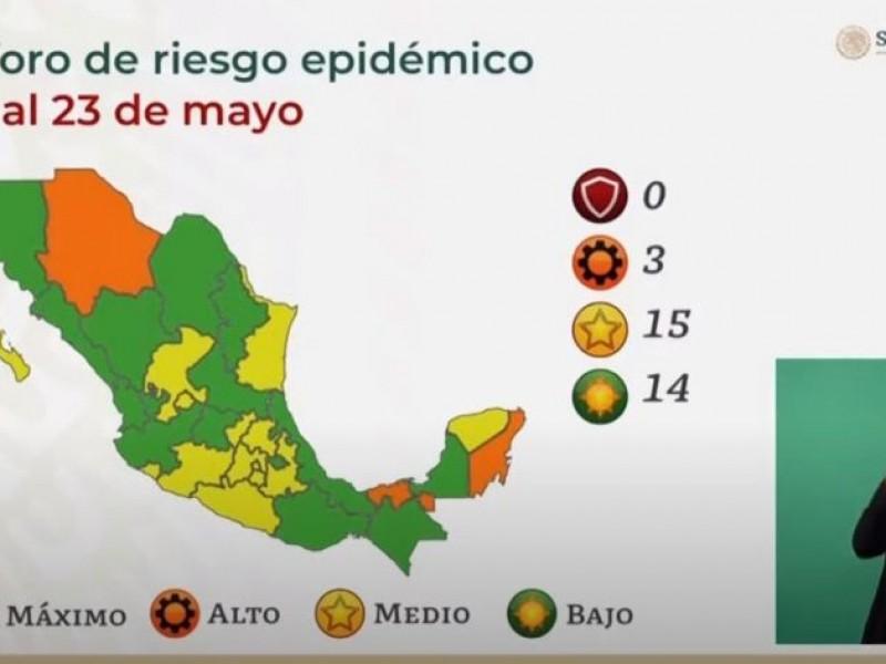 Sonora pasa a verde en el semáforo epidemiológico
