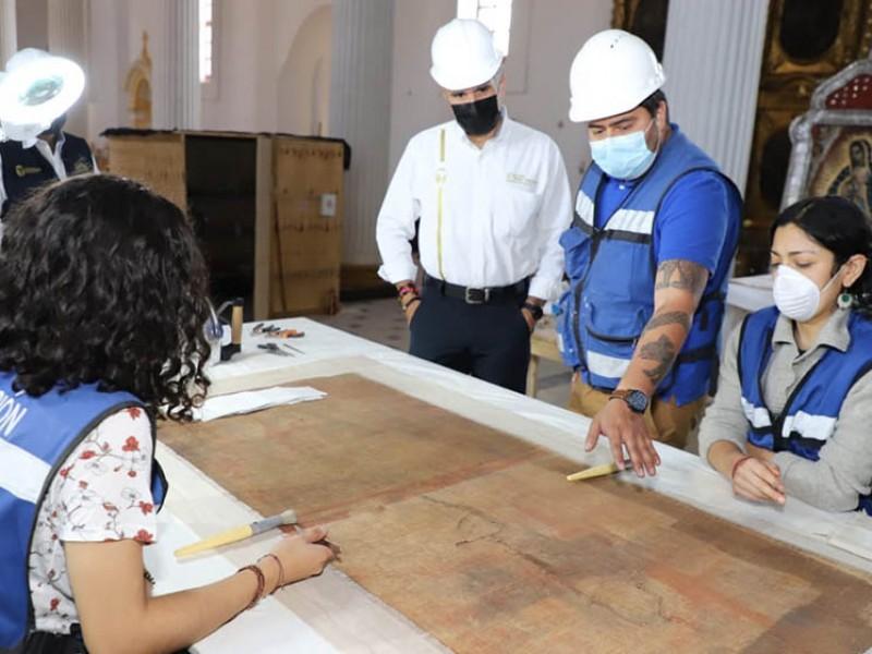 SOP supervisa obras de restauración en inmuebles históricos en SCLC
