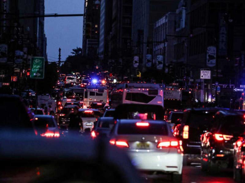 Sorprende apagón en Nueva York