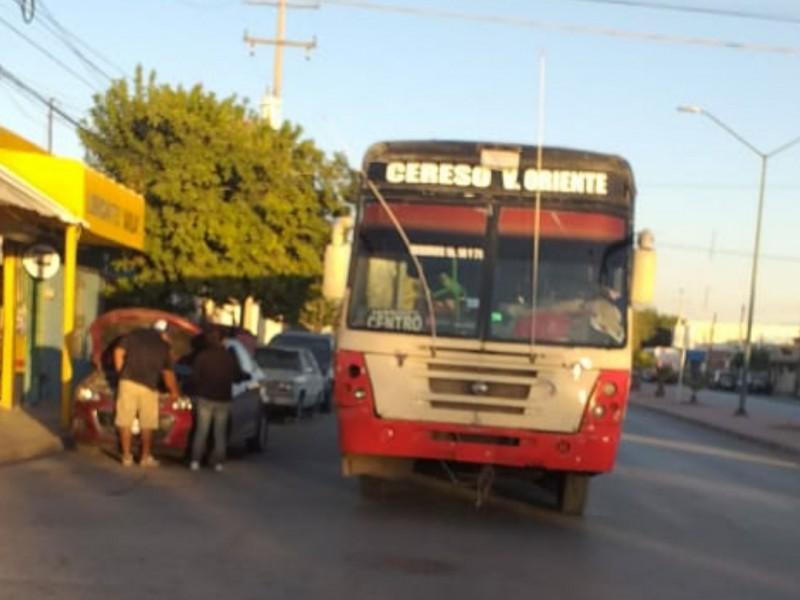 Sorprenden a ruta de autobús sin respetar medidas sanitarias