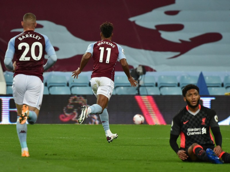 Sorpresa en la Premier, Aston Villa goleó al Liverpool 7-2