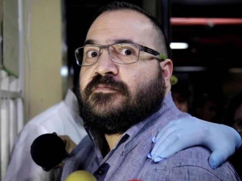 Sospecha Covid; Aíslan a Javier Duarte en el reclusorio Norte