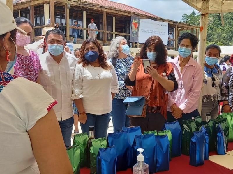 Sostienen reunión productoras Chiapas con enlace de la AVG