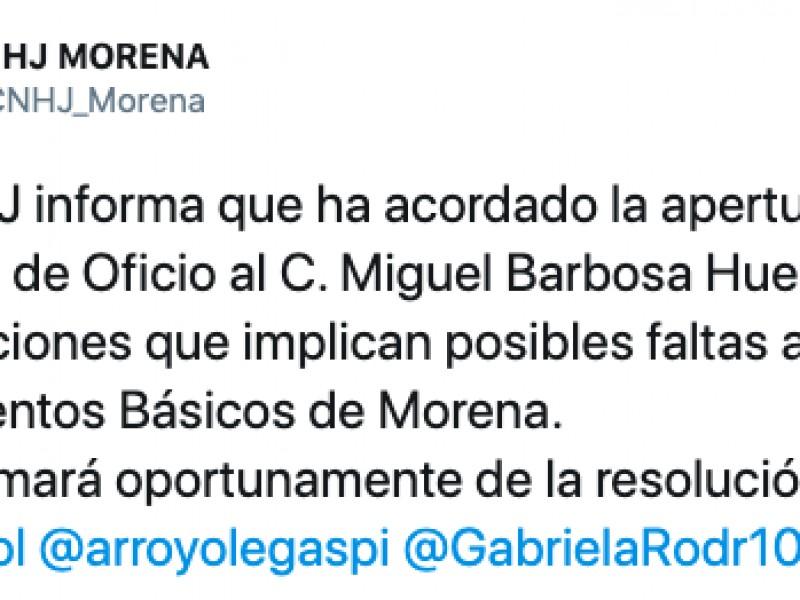 """""""Soy absolutamente inocente"""", Barbosa sobre declaraciones de desaparición de personas"""