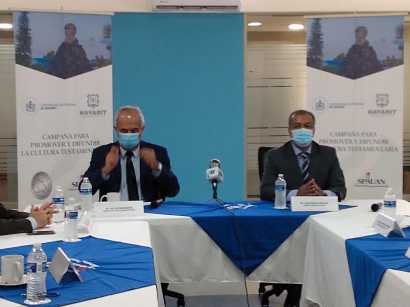 SPAUAN firma convenio de colaboración con el colegio de Notarios
