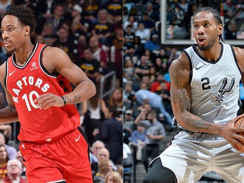 Spurs y Raptors realizan cambio bomba