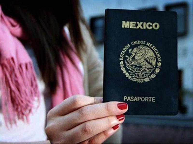 SRE suspende emisión de pasaportes en CDMX