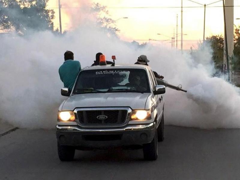 SSN inicia campaña de nebulización en Tepic