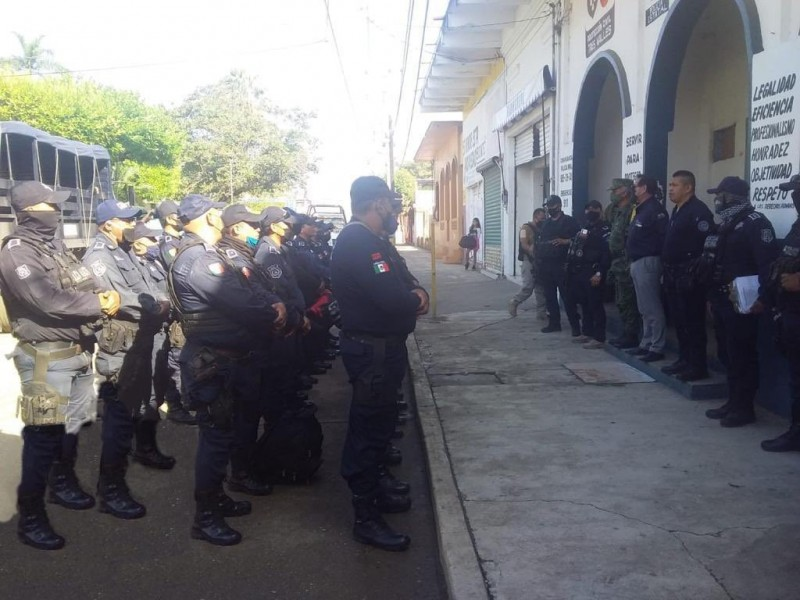 SSP releva a la Policía Municipal de Tres Valles