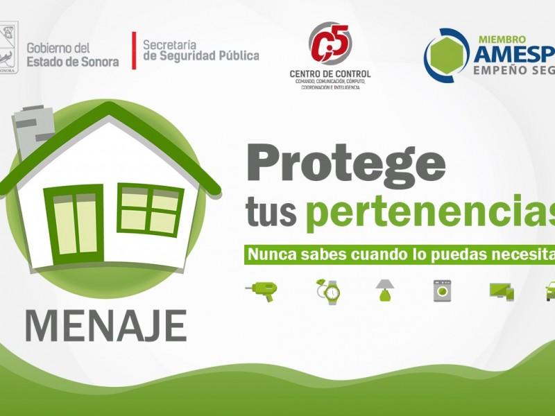 SSP Sonora y Asociación Mexicana de Empresas de Servicios Prendarios