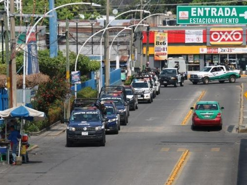 SSyPC realiza operativos de vigilancia en Tapachula