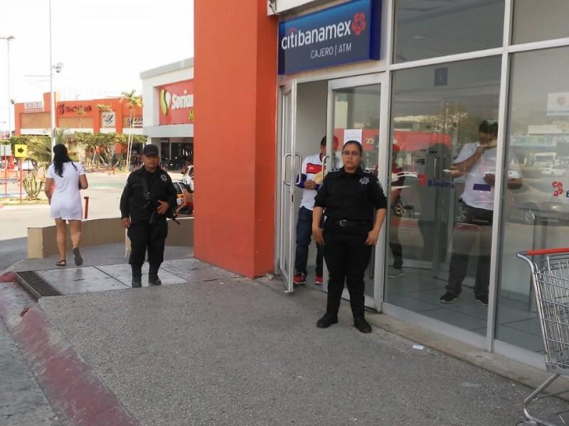 SSyPC resguarda plazas públicas en Tuxtla Gutiérrez