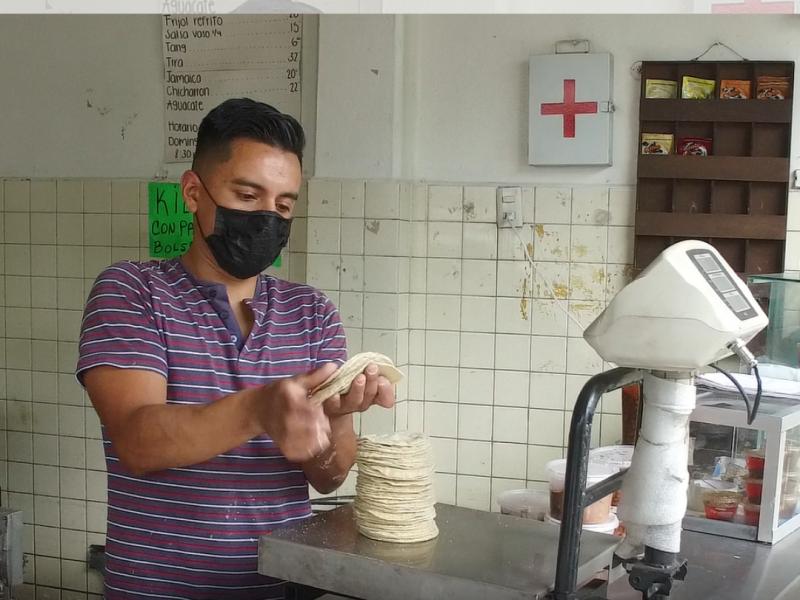 Sube otra vez el precio de las tortillas en Morelia