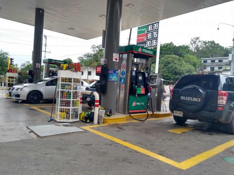 Suficiente abasto de combustible en Tuxpan