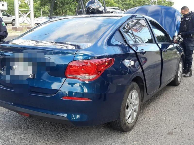 Sujeto asegurado por robo de vehículo