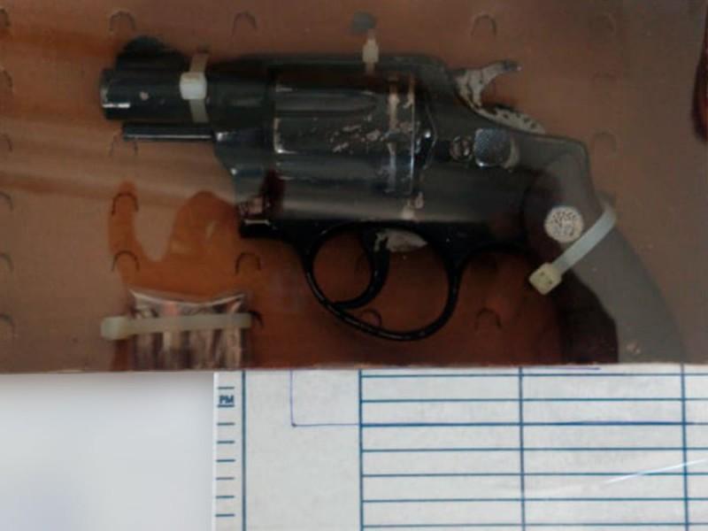 Sujeto es detenido por portación de arma de fuego