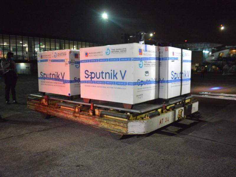 Suma Guatemala 550 mil dosis Sputnik V anti Covid-19
