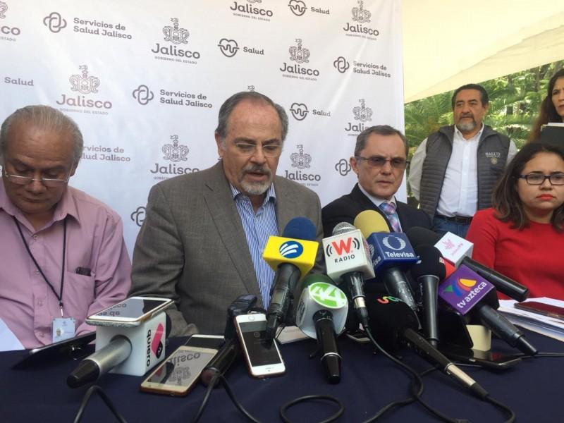 Suma Jalisco 13 defunciones por dengue