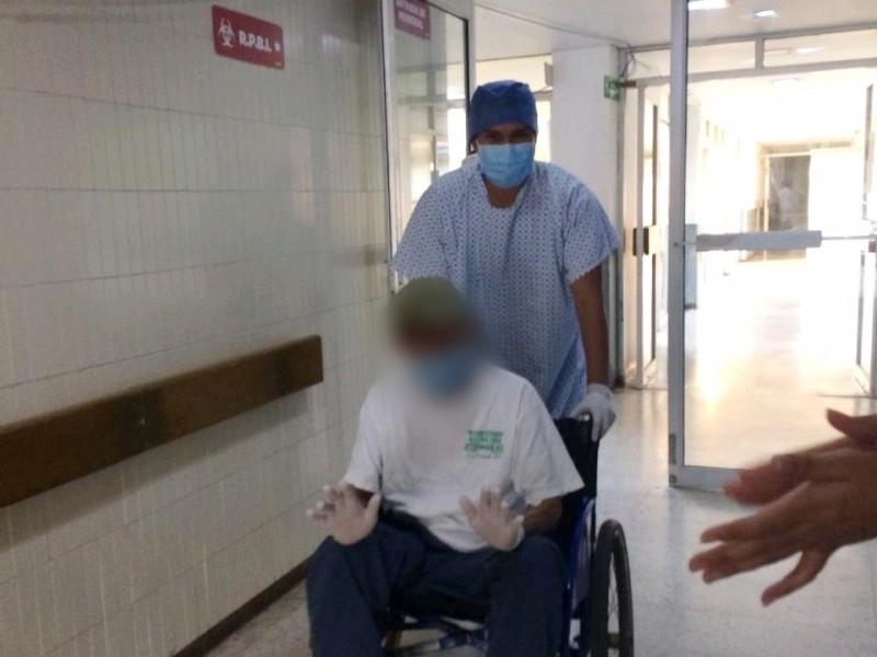 Suman 18 pacientes recuperados de COVID-19 en Hospital en LC